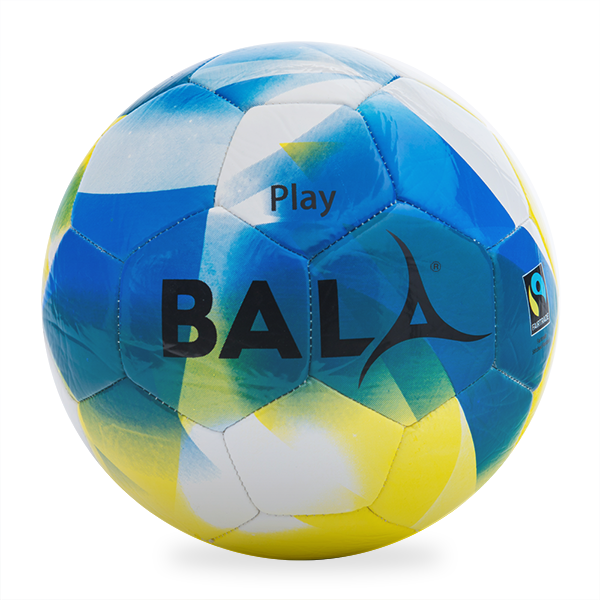 Bala Sport Blue Fairtrade Play Ball