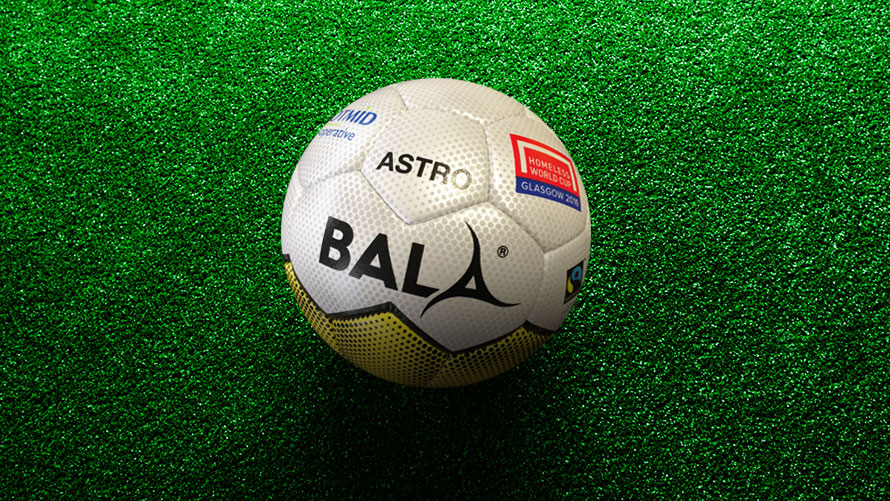 Bala Sport Fairtrade Balls Homeless World Cup Glasgow 2016
