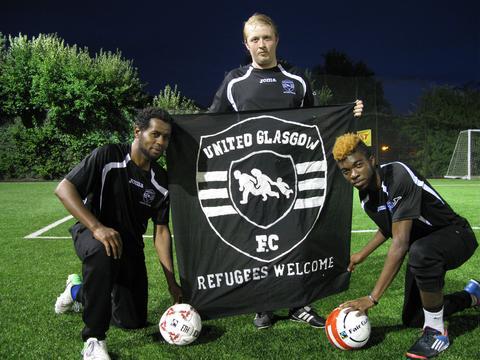Bala Sport Fairtrade Balls United Glasgow FC Partnership