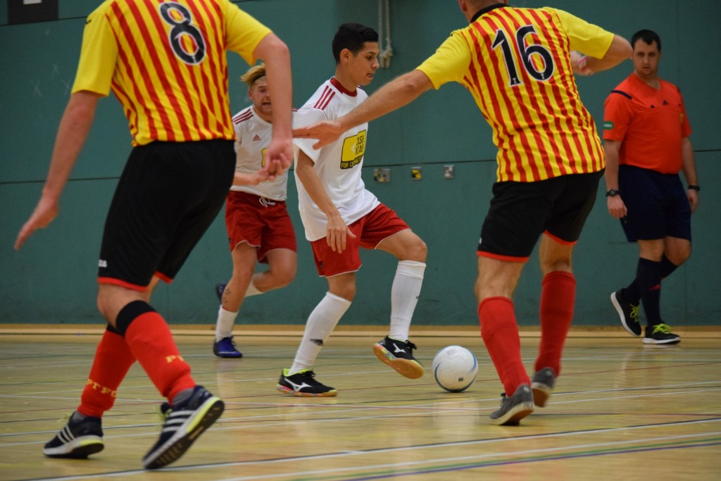 Fair Trade futsal ball in Scottish Futsal League