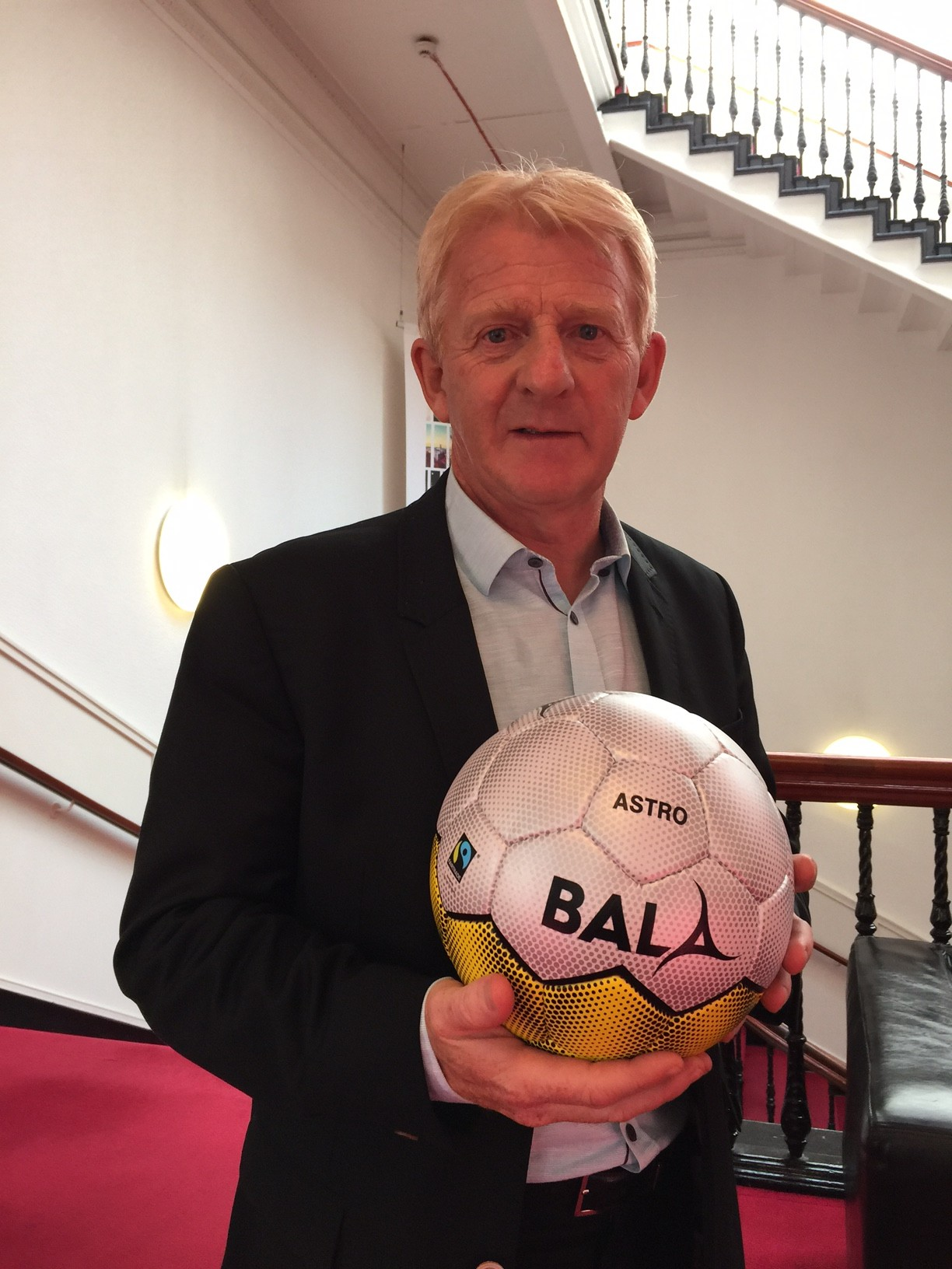Gordon Strachan with Bala Astro