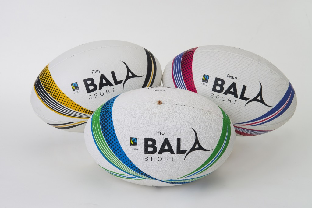 Rugby ball trio Reduced