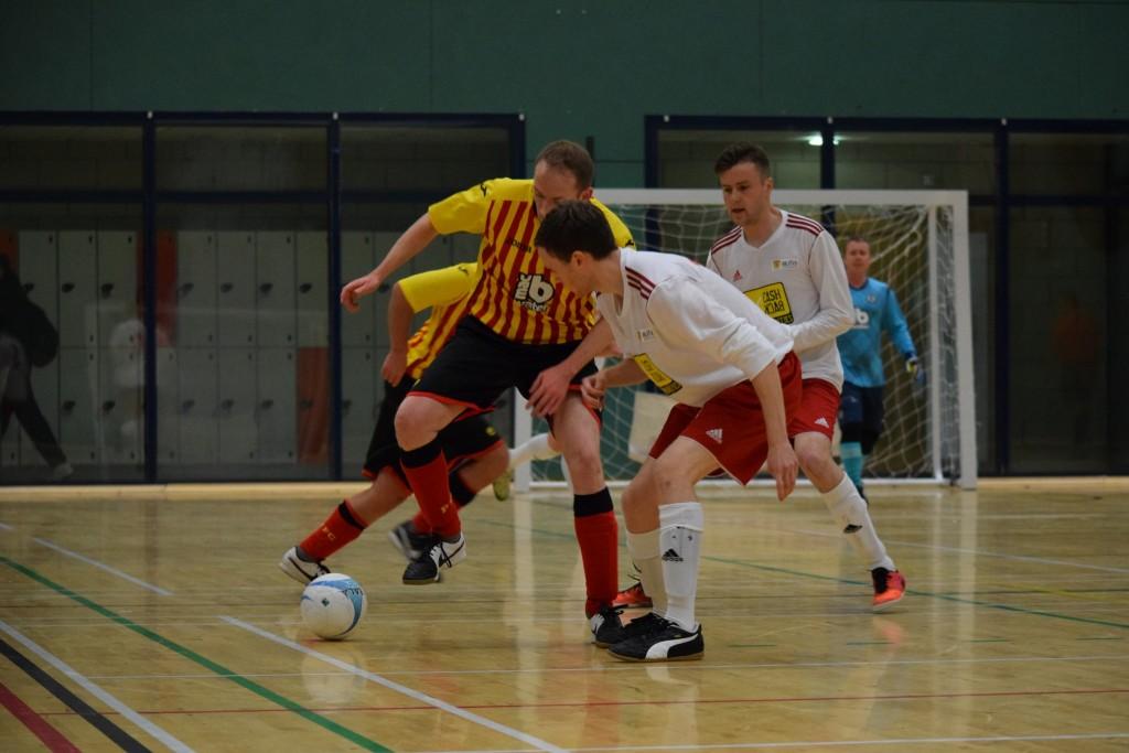 Fair Trade futsal match ball developed with Scottish Futsal League
