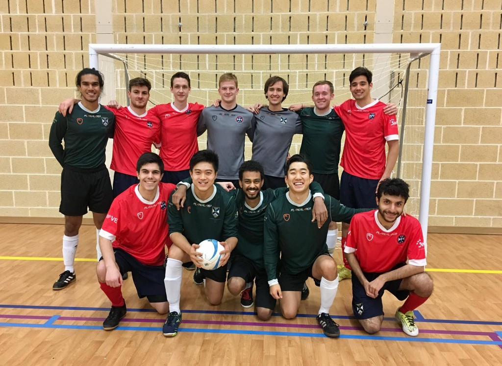 University of Edinburgh Using Fair Trade Futsal balls