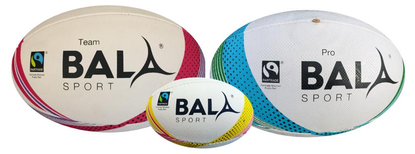 Fair Trade Rugby Balls Bala Sport Group