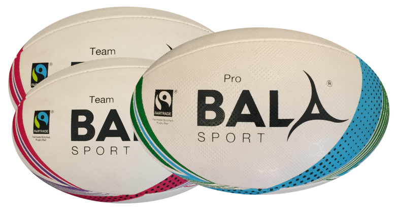 Rugby Ball Fair Trade Bala Sport