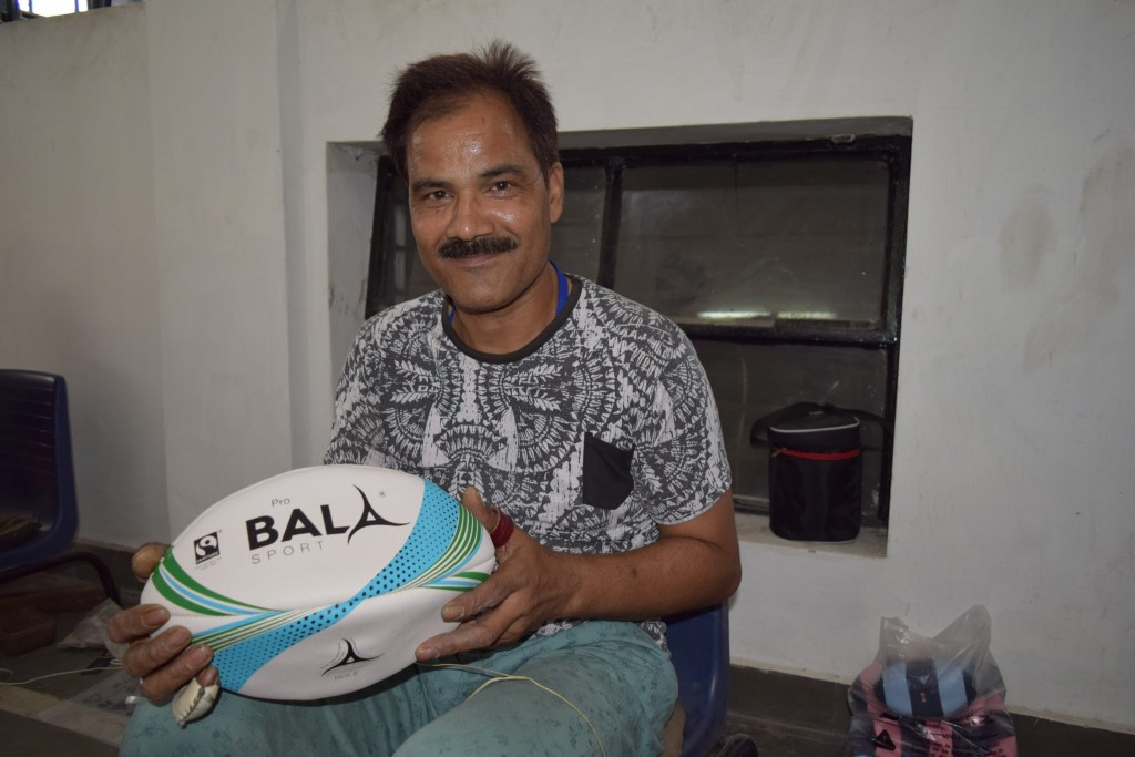 Rugby Ball Fair Trade Pro quality hand made