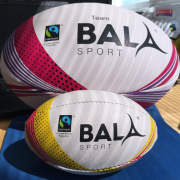 Fair Trade Rugby Mini Ball with Large Ball