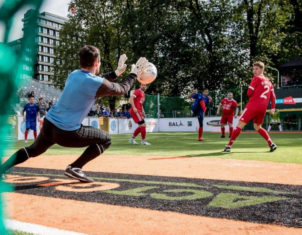 Fair Trade Match Balls Homeless World Cup Oslo