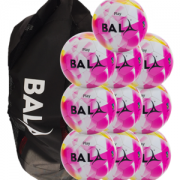 Play Ball Package 10 Balls & Bag Pink
