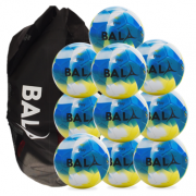 Fair Trade Bala Play Ball Package Blue 10 balls & Bag