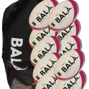 Fair Trade Bala Sport Rugby Team 10 Ball & Bag Package