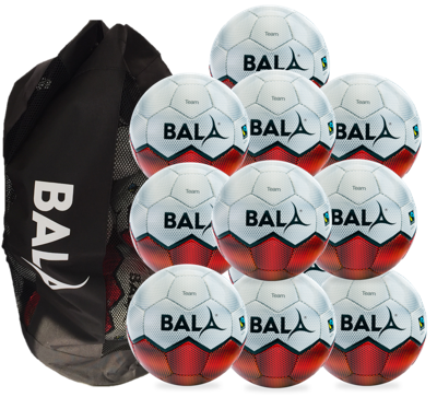Fair Trade Astro football package with bag