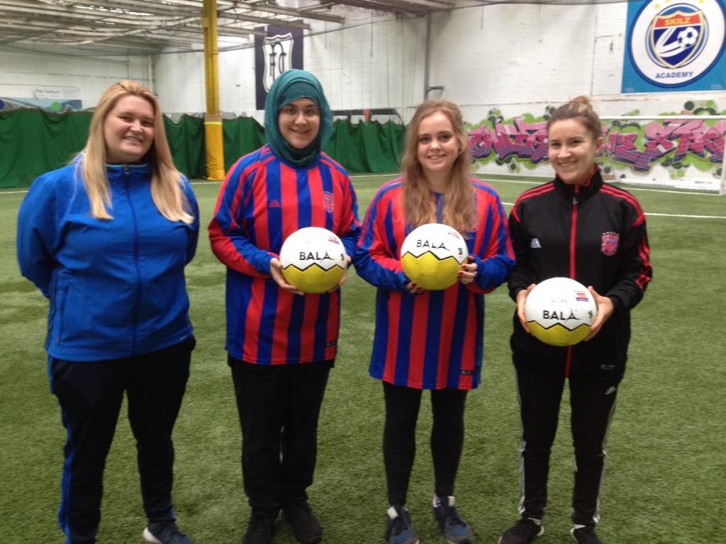 Bala Women's Walking Fotball Team Dundee