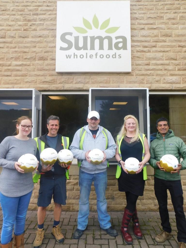 Custom Suma Wholefoods Fair 7 Funk Ball