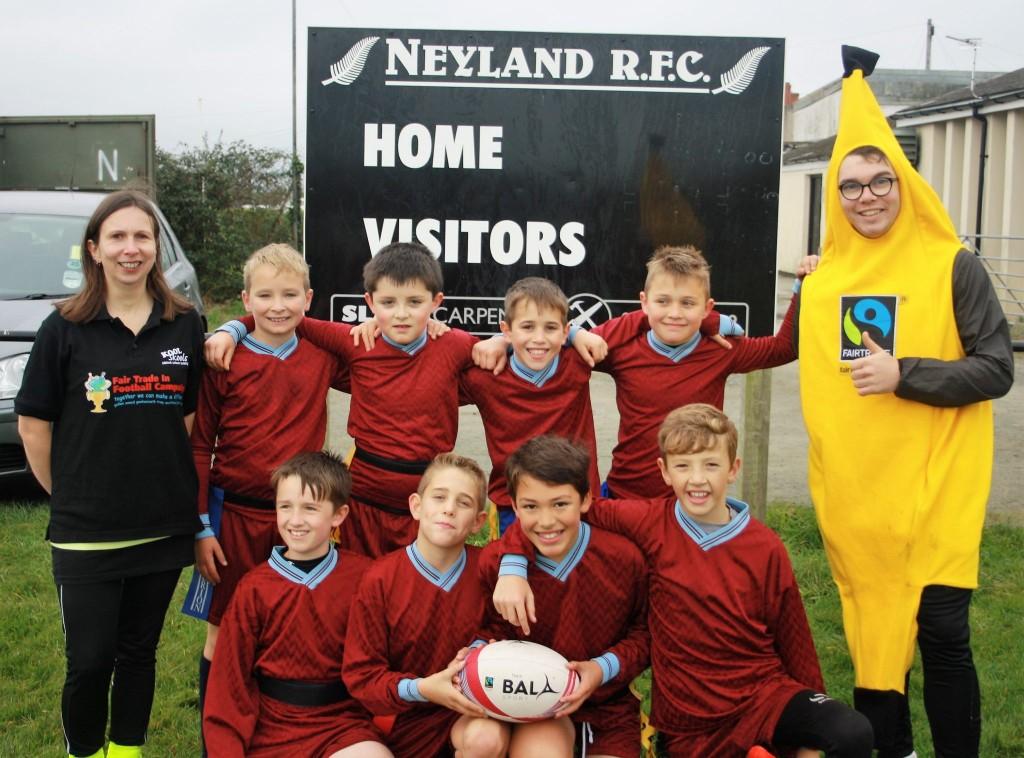 Templeton Rugby Fair Trade balls Fair Trade in Football Campaign