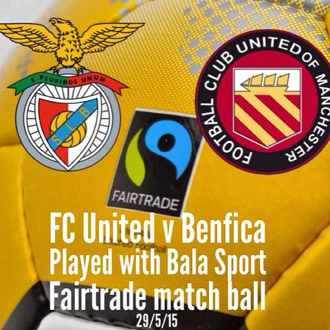 Bala Sport Fairtrade Balls FC United vs Benfica