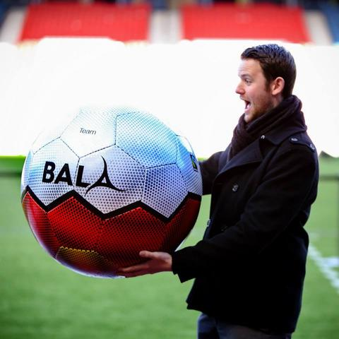Bala Sport Fairtrade Balls Share Offer Hampden Stadium