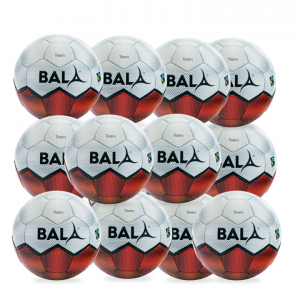 12 Fair Trade Team Training Footballs from Bala Sport