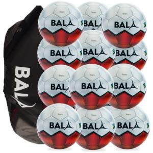 12 Fair Trade Bala Sport Team Training Footballs