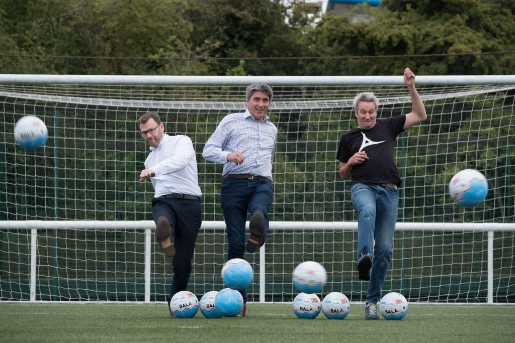 Homeless World Cup Bala Sport Fairtrade balls
