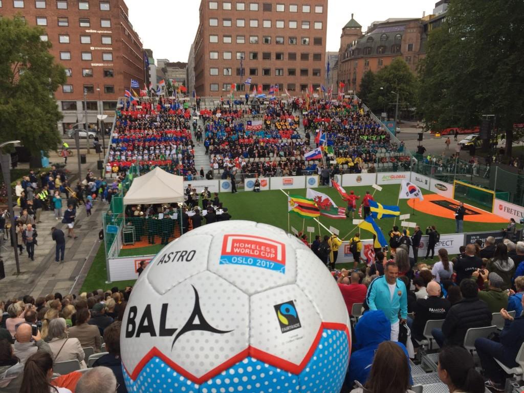 Fair Trade Football Homeless World Cu