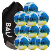 Fair Trade Bala Play Ball Package Blue 10 balls & Bag