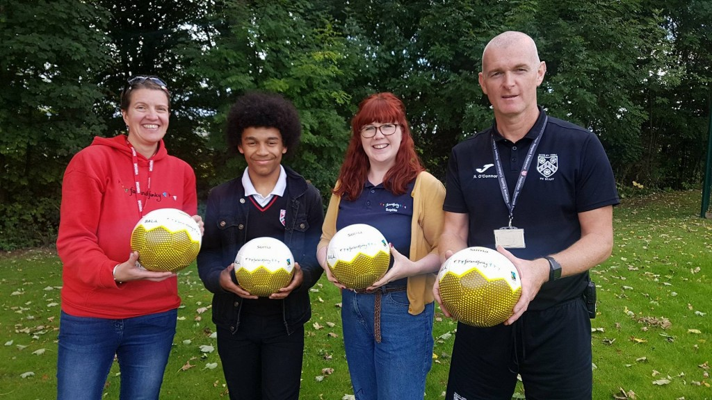 F&F Honley High PE Fair Trde Balls