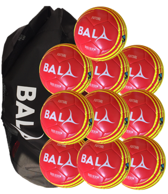 Fair Trade 10 Training Ball and Bag Package