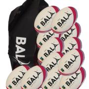 Fair Trade 12 Rugby Team 12 Ball & Bag Package