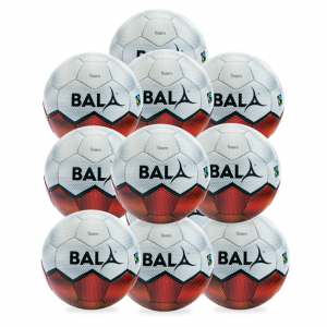 10 Fairtrade Team Footballs from Bala Sport
