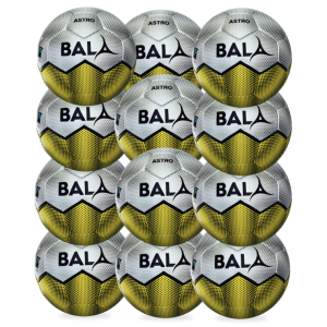 12 Fair Trade Astro Footballs from Bala Sport