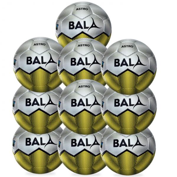 10 Fair Trade Astro Footballs from Bala Sport
