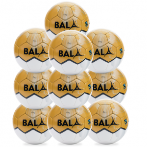 10 Fair Trade Pro Match cQuality Footballs from Bala Sport