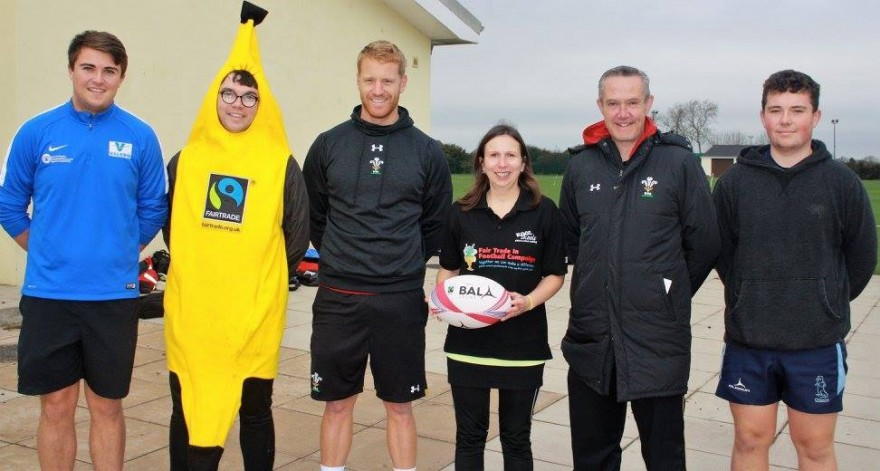 Fair Trade Rugby Ball in Pembrokeshire