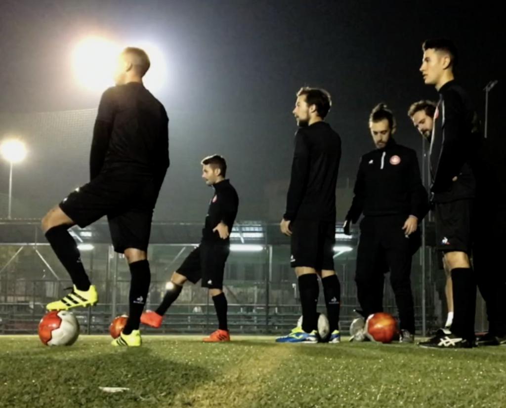 A.S. Velasca play with Fair Trade Footballs