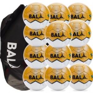 Bala Sport Fairtrade Pro Match Balls & Bag