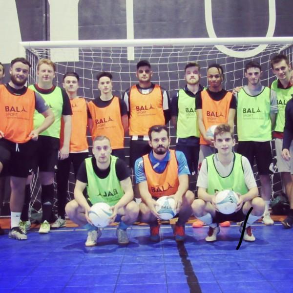 Swindon Futsal Club use Bala Sport Fairtrade balls and bibs