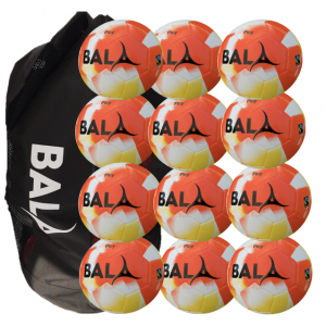 Orange Play Fairtrade Ball & Bag Pack 12