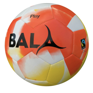 Size 3 Orange Bala Sport Fair Trade Play Ball