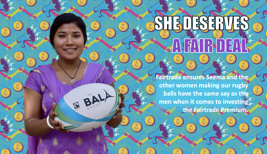 Fairtrade Fortnight 19 Bala Sport Seema